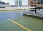 Podium deck waterproofing