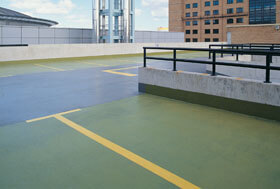 Car Park Decking and waterproofing