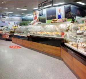 MMA resin Flooring for Supermarkets