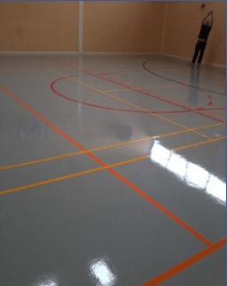 Superfast Epoxy Resin For School Sports Hall Larsen